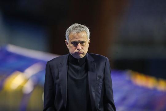 Jose Mourinho Dinamo Zagreb v Tottenham Hotspur - UEFA Europa League Round Of 16 Leg Two