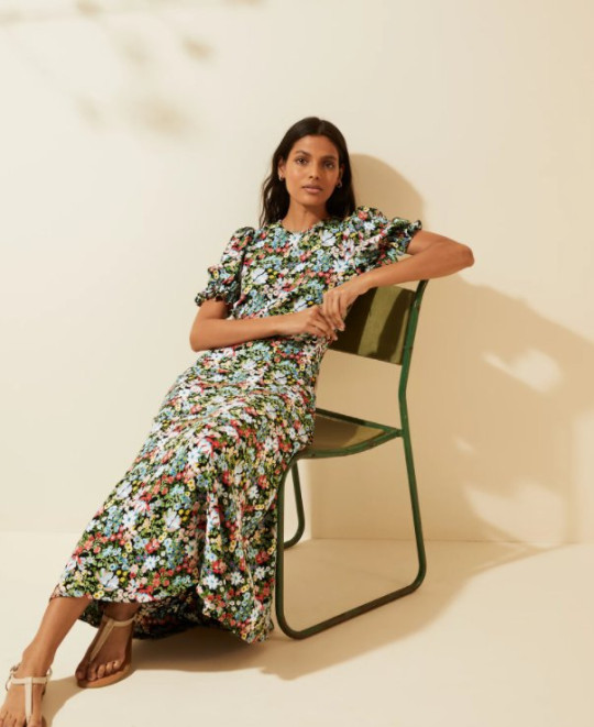 M&S and ghost floral dress