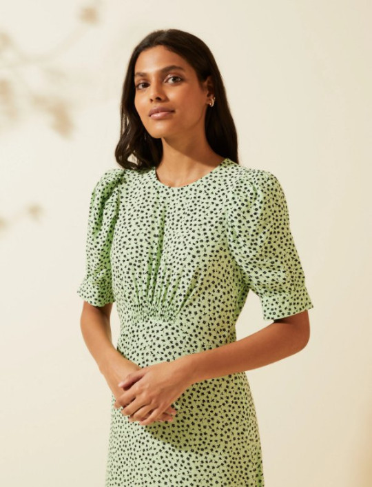 M&S and ghost green dress