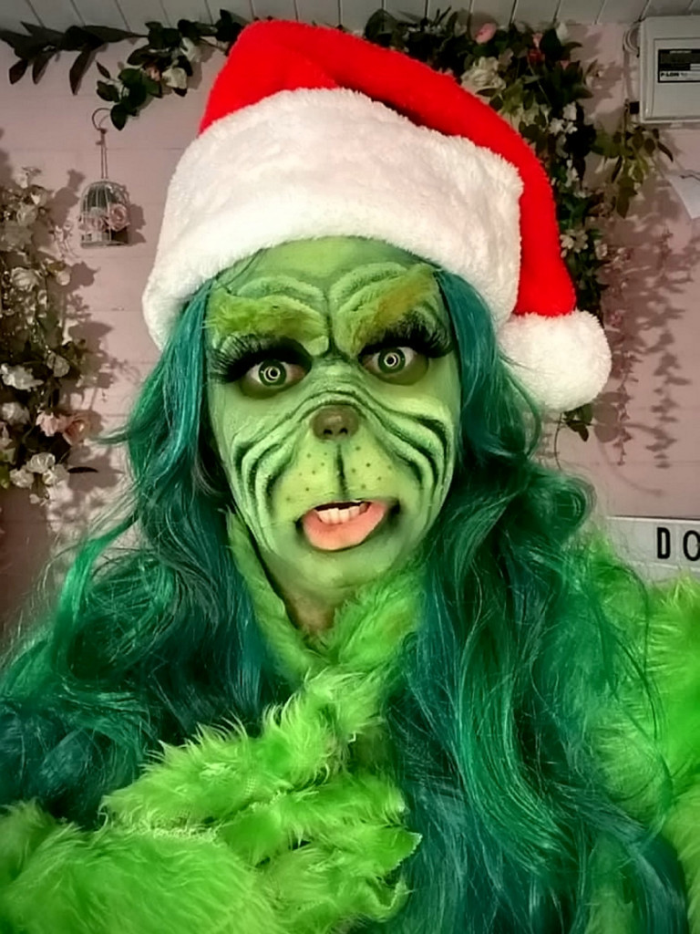 Liss Lacao  as the Grinch