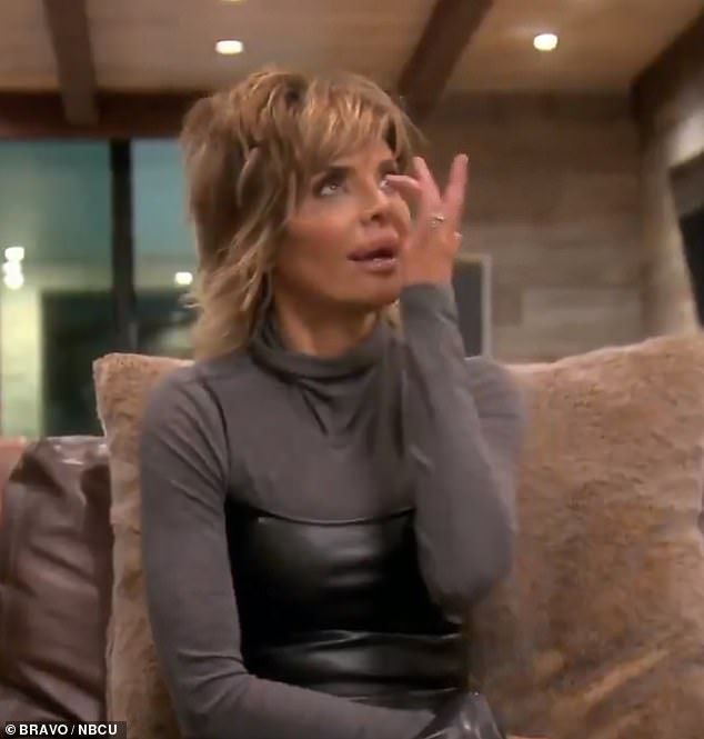 'He's too damn old!' It comes after Amelia's mother Lisa gave her take on her daughter's relationship with the Keeping Up With The Kardashians star in a new trailer for RHOBH