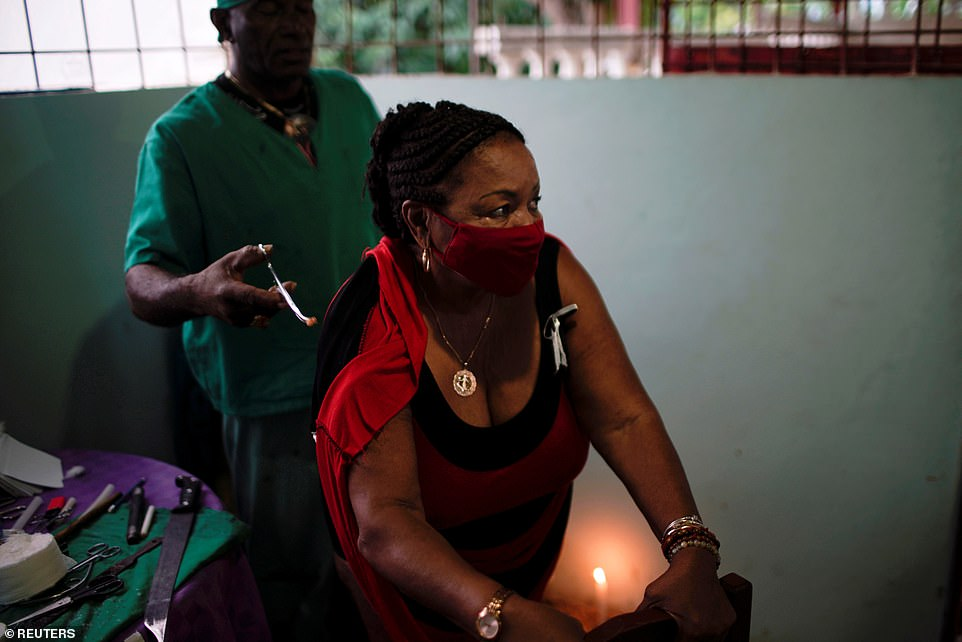 Cuba has long been praised for its strong health care sector and high number doctors, often dubbed the 'white coat army', so it was not immediately clear why so many people have turned to alternative forms of medicine