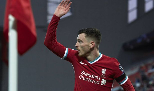 Liverpool boss Jurgen Klopp has been told he made a mistake in not giving Andy Robertson the captaincy against Real Madrid