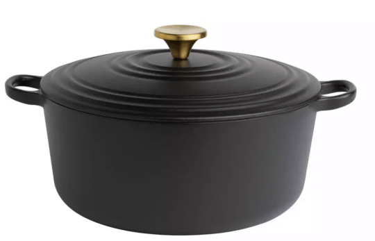 habit cast iron dish