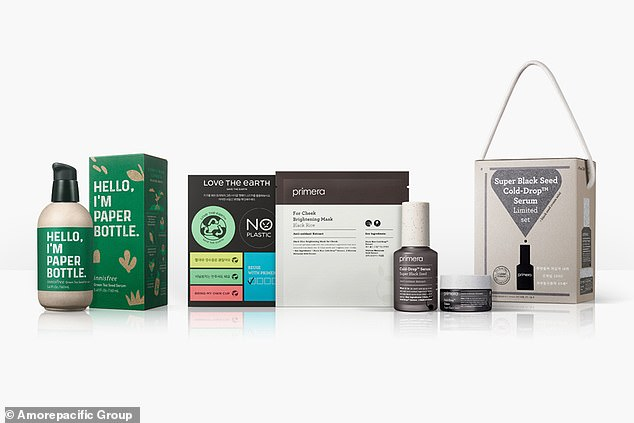 Amore Pacifica, which owns Innisfree, Primera, and dozens of other brands, has announced plans to use 700 tons less plastic packaging by 2022.