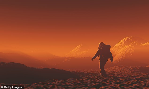 If they die while one the Red Planet,a Martian burial will be necessary, but NASA has strict laws about contaminating other planets with Earth microbes - the body will first need to be burned