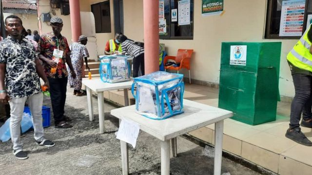 Voting ongoing for Obio Akpor Watd 6 unit 20
