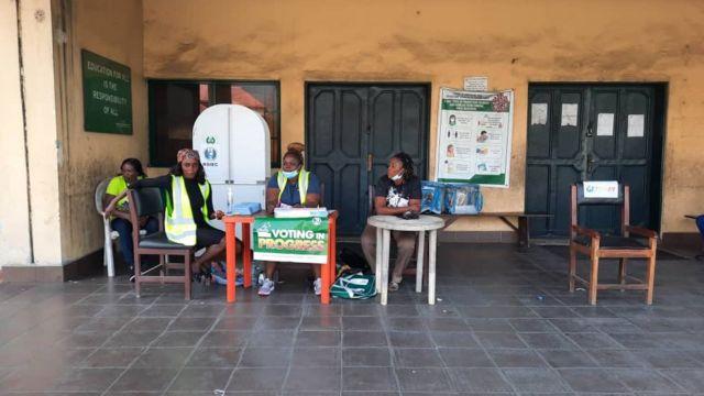 Ward 11 unit 1 Obio-Akpor voting wam begin