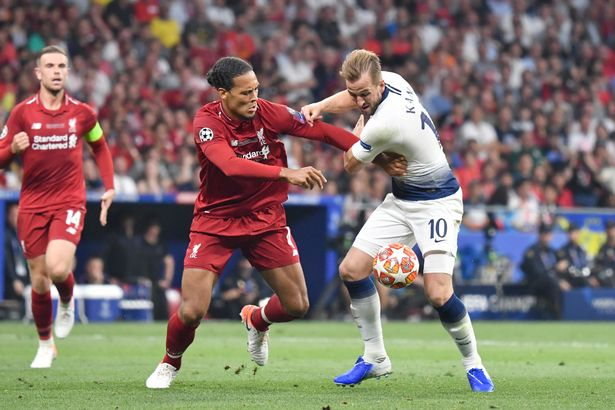 Liverpool beat Tottenham in the 2019 Champions League final