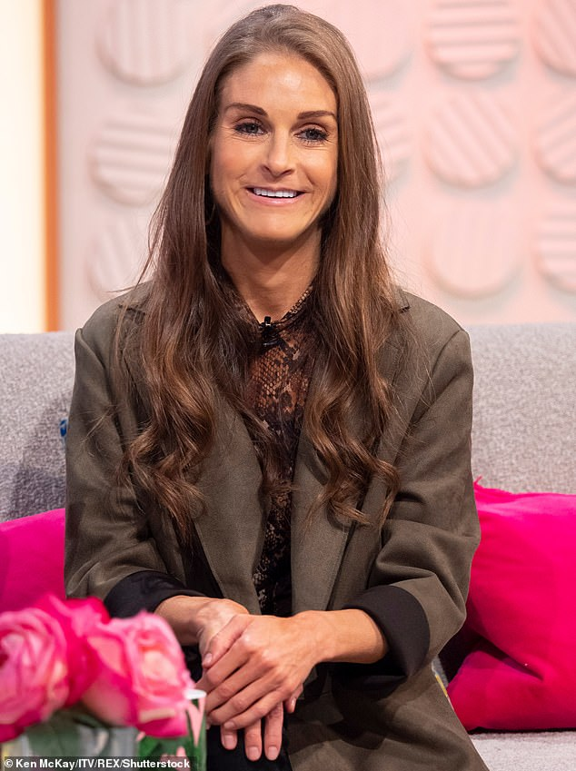 Pictured: Nikki during an appearance on Lorraine in November 2018