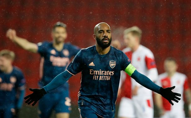 Alexandre Lacazette is out of contract in 2022