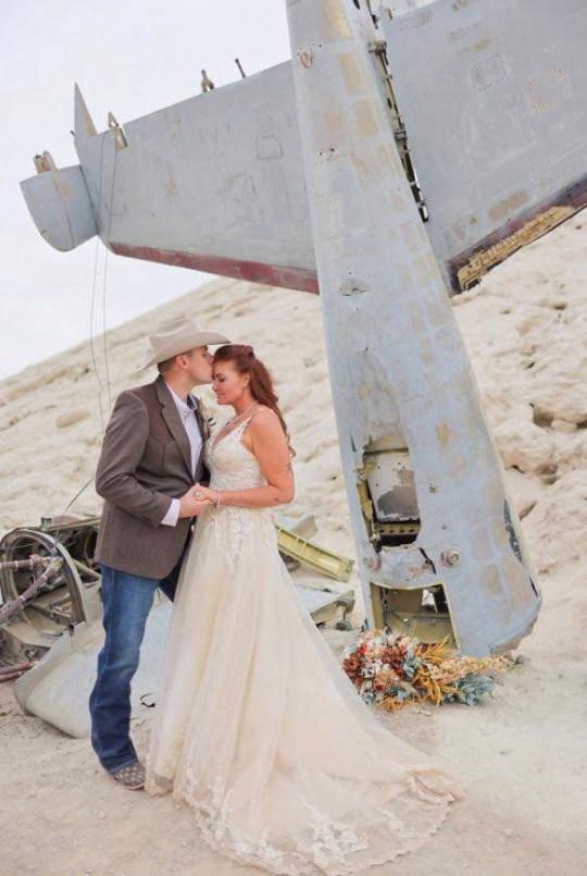 Aubry Lyn and Justin Unfred wedding in Las Vegas