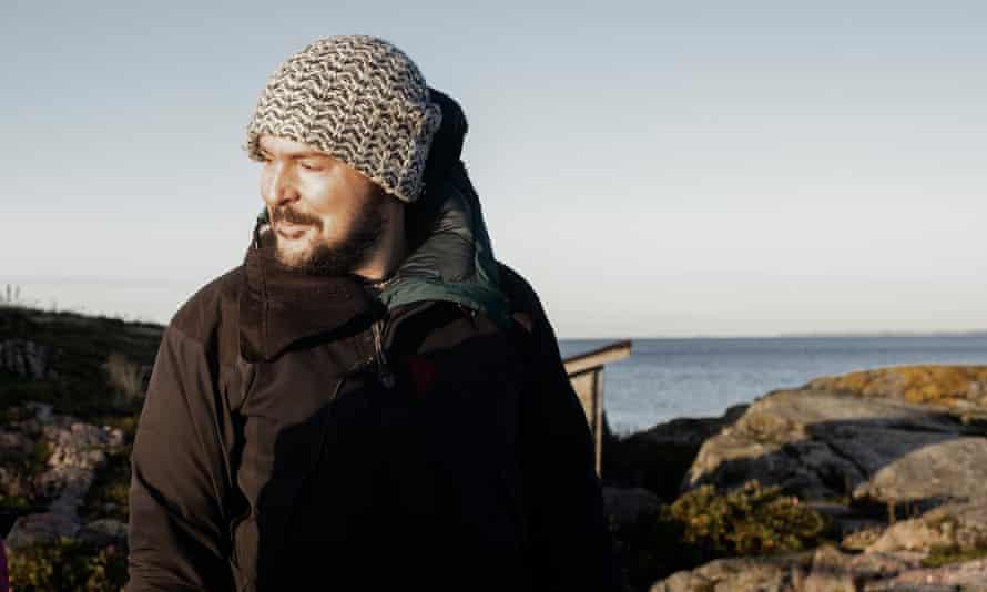 Dan Richards on the island of Klovharun in the Pellinki archipelago, Finland.