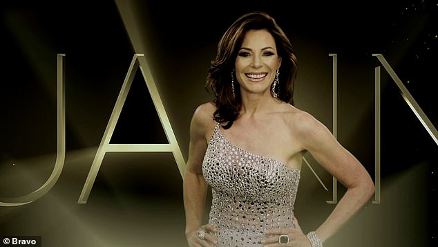 Show vet Luann de Lesseps says, 'Of all my vices, being glamorous is one I'll never give up.'