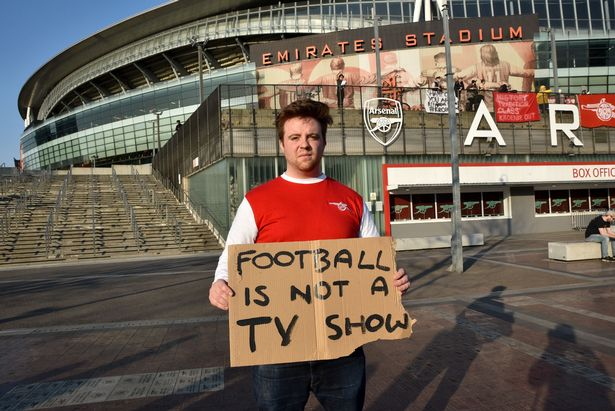 Arsenal withdrew from the Super League after receiving widespread condemnation, including from supporters