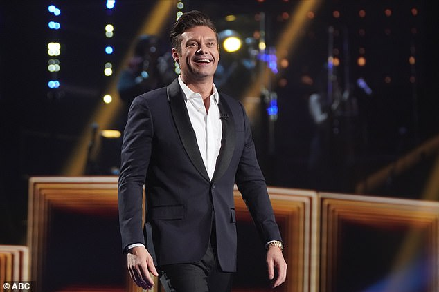 The host: Ryan Seacrest hosted the two-hour show