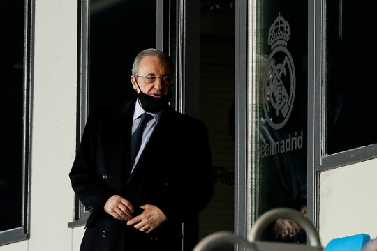 Florentino Perez is one of the driving forces behind the European Super League