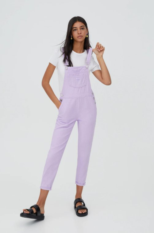 Dungarees to wear this summer Picture: Pull and Bear