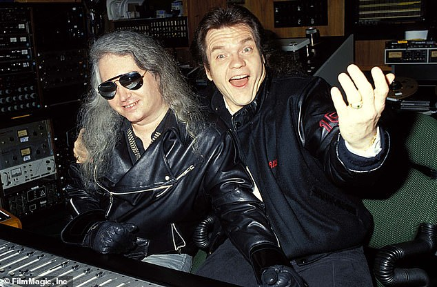 Early days:The cause of death for the icon, who worked with Meatloaf on Bat Out Of Hell (seen in 1991), has not yet been shared