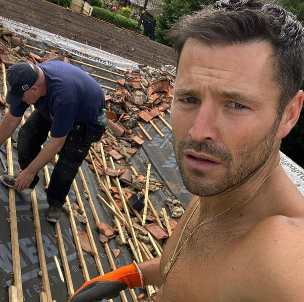 Mark Wright and Michelle Keegan have been keeping their fans updated on Instagram about the progress of their plans