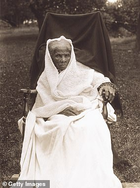 Tubman died in 1913 from complications stemming from pneumonia. She was buried with military honors in Fort Hill Cemetery