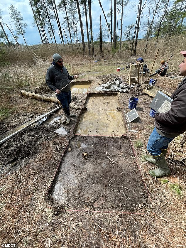 The site in Church Creek was unearthed last year, but following more research of the area and artifacts found officials can now confirm it is where Ben Ross's, Tubman's father, log cabin once stood