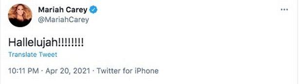 Mariah Carey Twitter