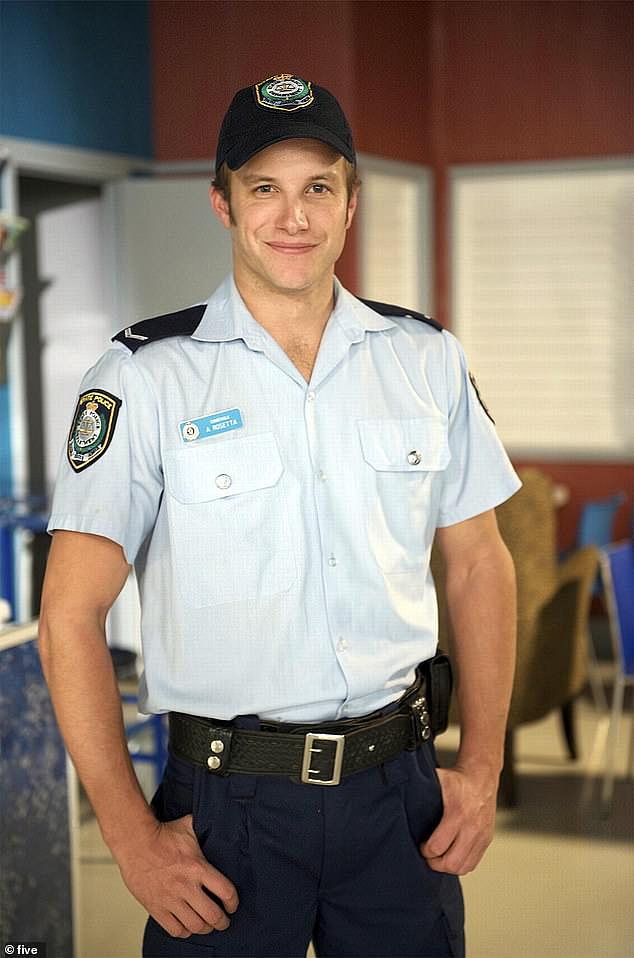 Thrilling fans: Last year, Luke announced his return to the show, almost a decade after leaving the show in June 2011. Pictured in character on the soap