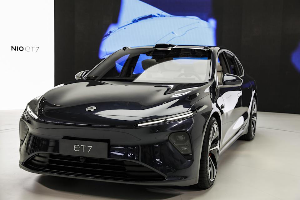 Nio ET7 shanghai auto show
