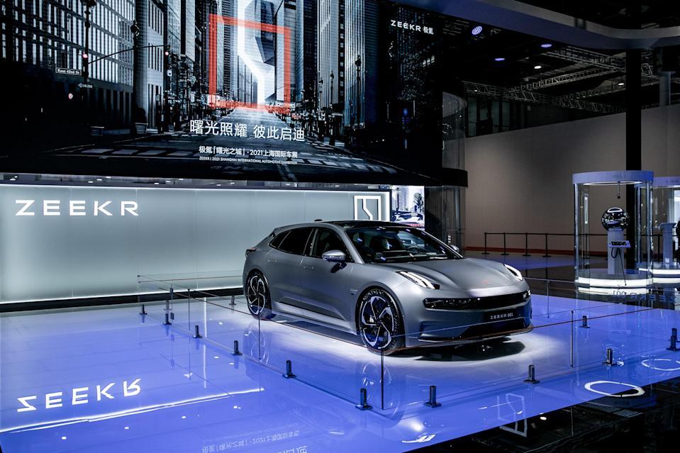Zeekr-electric-shanghai auto