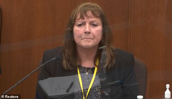 Forensic chemist Susan Neith was the last witness of the day. She also tested the pills from both vehicles and told the jury that she found trace levels of fentanyl and methamphetamine in the pills taken from the back of the squad car