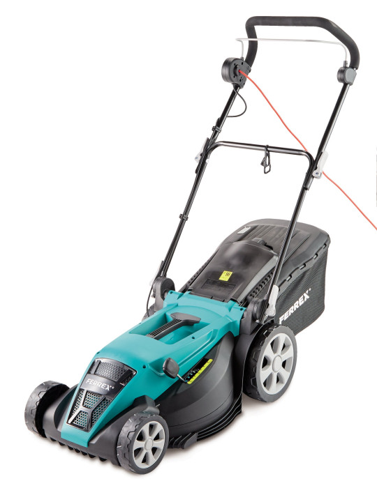 Electric lawn scarifier and aerater