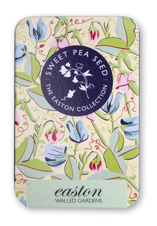 Sweet Pea 'Easton Walled Garden Mix'