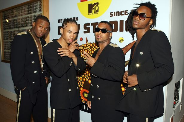 Pleasure, Spectacular, Baby Blue, and Slick 'Em of Pretty Ricky in 2007