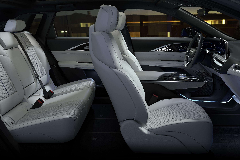 Cadillac Lyriq Interior side shot