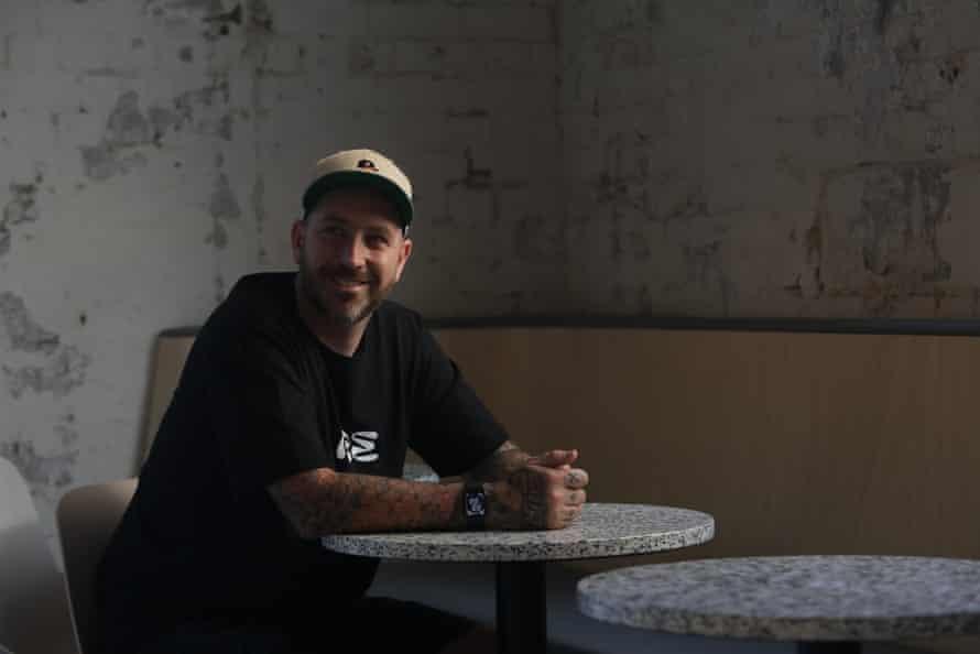 Matt Whiley at Re bar