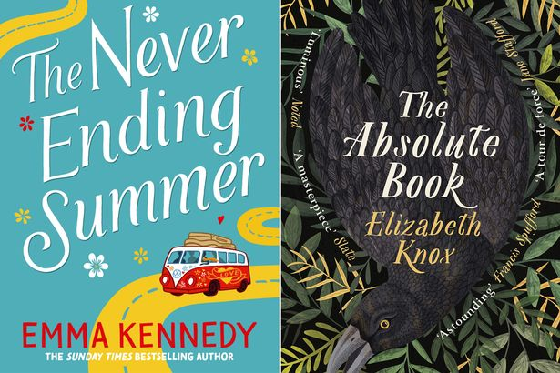 The Never Ending Summer, by Emma Kennedy and the Absolute Book by Elizabeth Knox