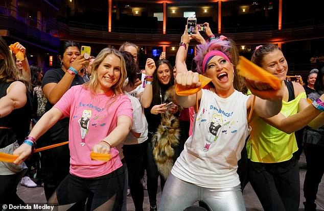 'It's Dorinda Medley, need I say more?' the star quipped about hosting a virtual 80s Dorobics class this Friday to benefit Ronald McDonald House New York