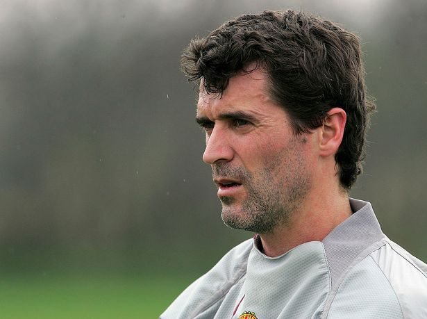 Keane's dressing room rants were infamous during his days at Old Trafford