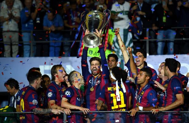 Pique has won eight La Liga titles and three Champions League crowns since moving back to the Nou Camp