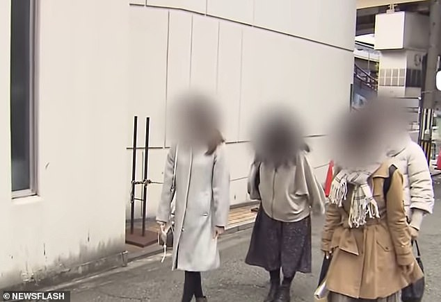 In one case, the Miyagwa told a 47-year-old lover that his birthday was on February 22, when it was actually 13th November. Another victim, 40, said he told her his birthday was in July, while a 35-year-old woman said she thought it was April. Pictured: Some of the women that filed the complaint against Miyagawa