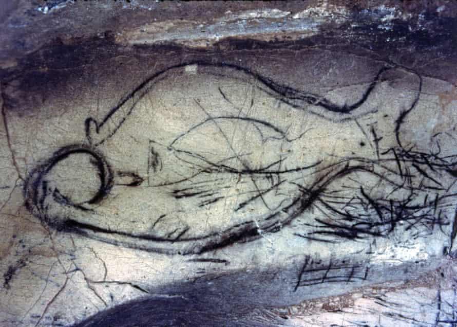 La Pileta cave in Andalusia.