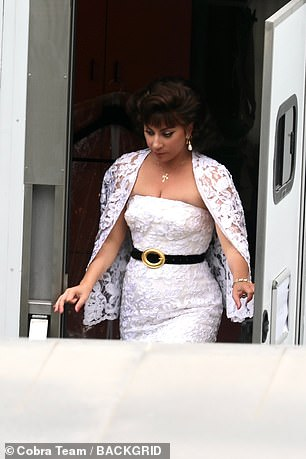 Lady Gaga is playing Reggiani in an upcoming Ridley Scott movie about her life which is filming in Rome