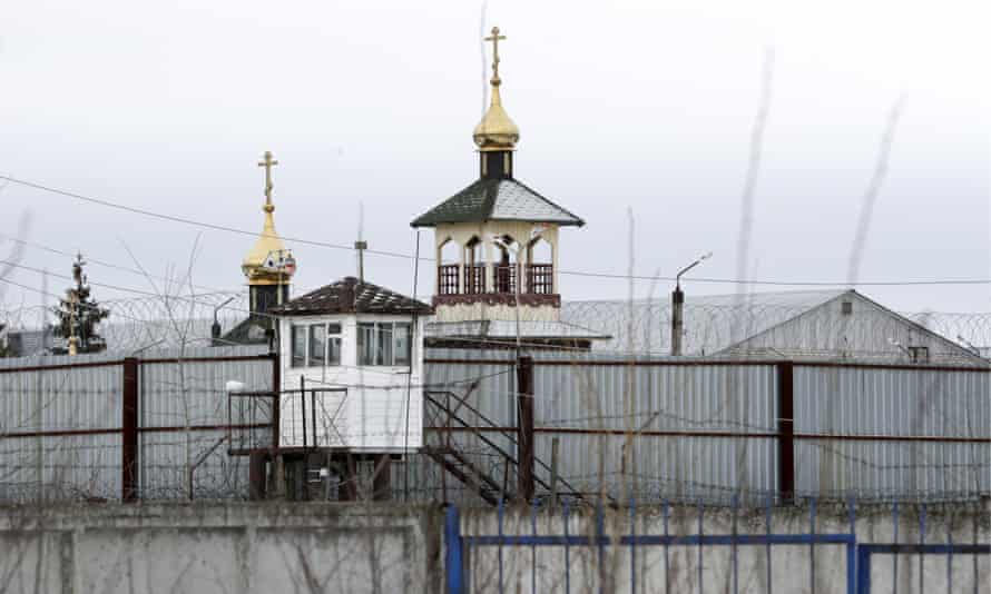 An outside view of Penal Colony No 2 in Russia's Vladimir region, where Navalny was sent to serve his sentence.