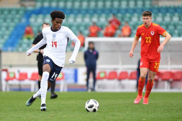Chukwuemeka has also been capped at the age group level for England