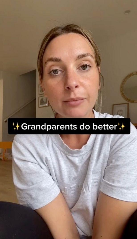 Brittany talking in Tiktok video