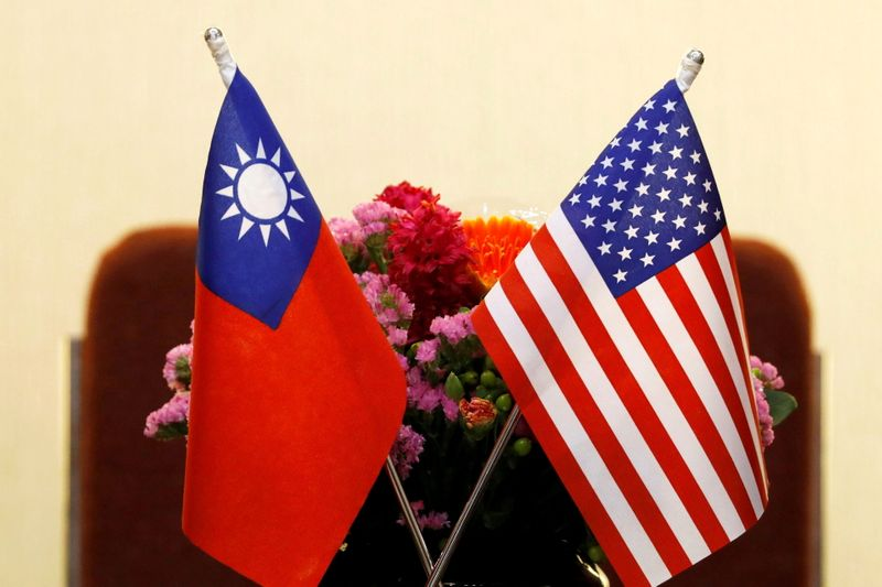 Ahead of U.S. visit to Taiwan, China terms exercises 'combat drills'