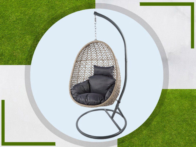 Aldi's £149 hanging egg chairs will drop on Sunday, but you'll need to set an alarm to get one