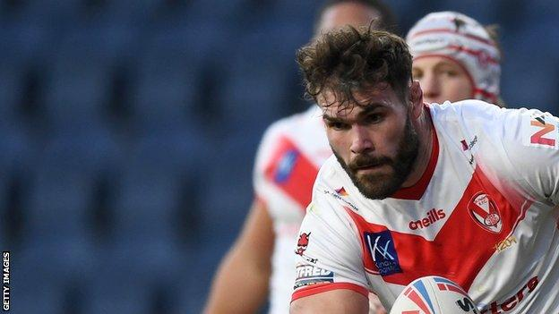 Alex Walmsley was named in last season's Super League Dream Team on the way to helping St Helens win a second successive Grand Final