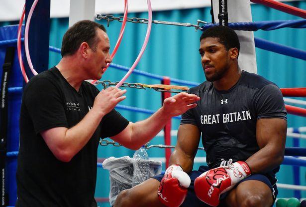 Anthony Joshua's coach Rob McCracken will be at the Olympics
